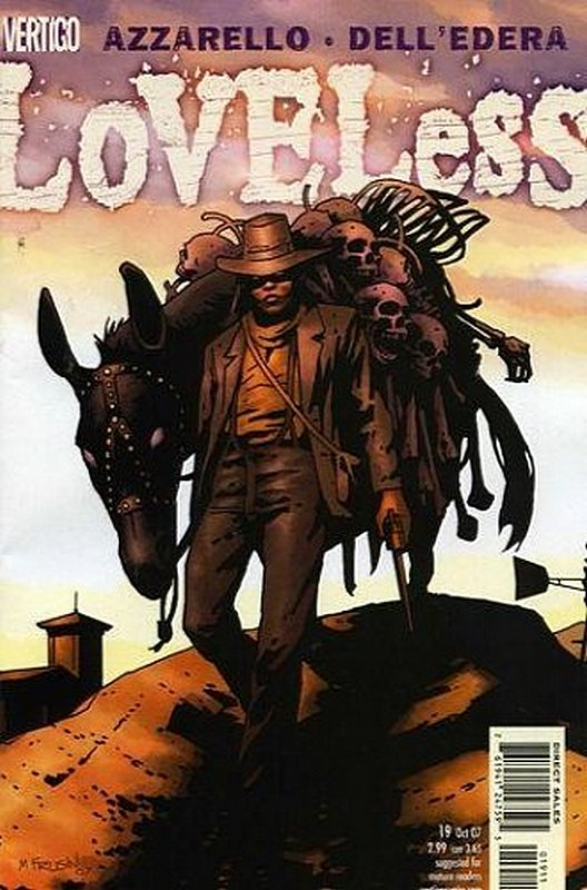 Cover of Loveless (Vol 1) #19. One of 250,000 Vintage American Comics on sale from Krypton!