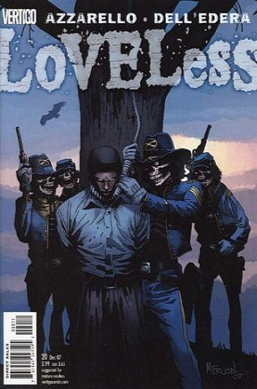 Cover of Loveless (Vol 1) #20. One of 250,000 Vintage American Comics on sale from Krypton!