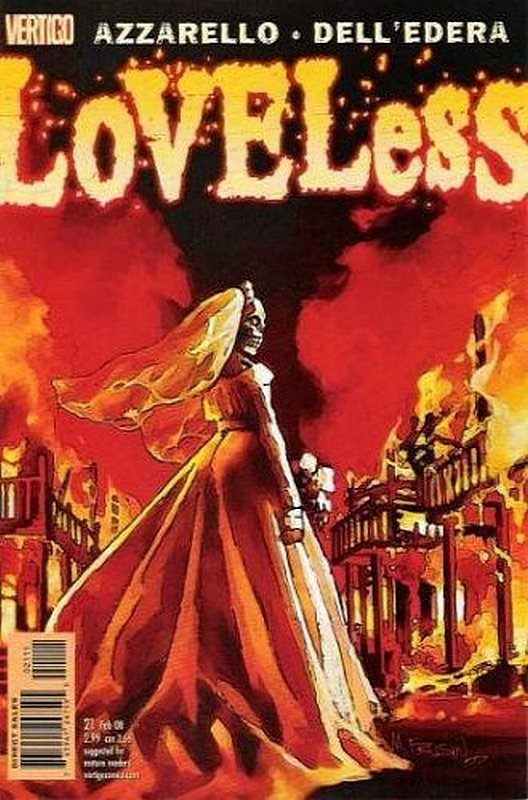 Cover of Loveless (Vol 1) #21. One of 250,000 Vintage American Comics on sale from Krypton!