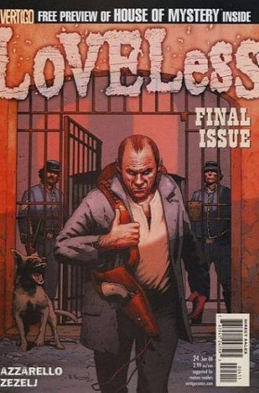 Cover of Loveless (Vol 1) #24. One of 250,000 Vintage American Comics on sale from Krypton!