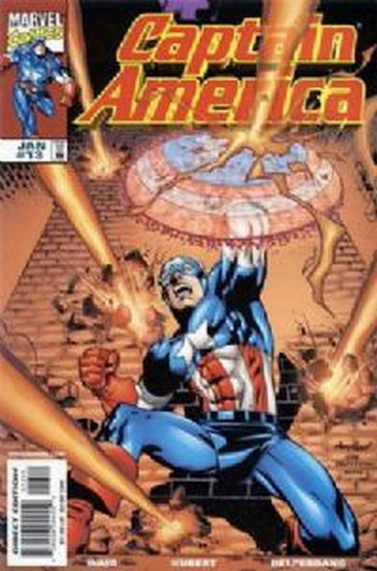 Cover of Captain America (Vol 3) #13. One of 250,000 Vintage American Comics on sale from Krypton!