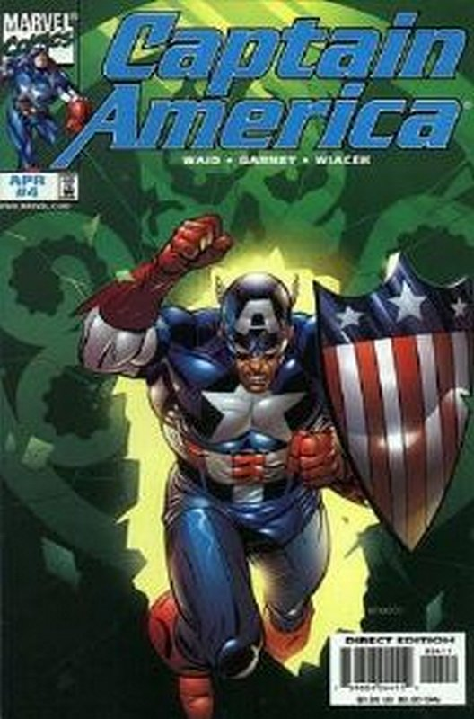 Cover of Captain America (Vol 3) #4. One of 250,000 Vintage American Comics on sale from Krypton!