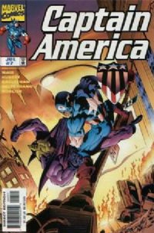 Cover of Captain America (Vol 3) #7. One of 250,000 Vintage American Comics on sale from Krypton!