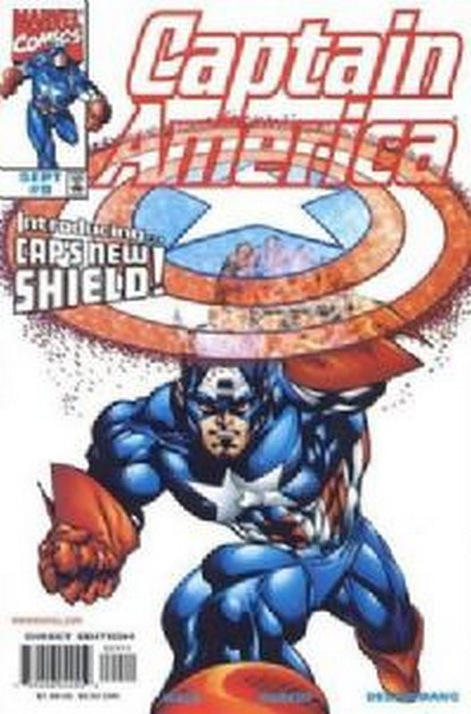 Cover of Captain America (Vol 3) #9. One of 250,000 Vintage American Comics on sale from Krypton!