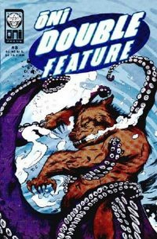 Cover of Oni Double Feature (Vol 1) #8. One of 250,000 Vintage American Comics on sale from Krypton!