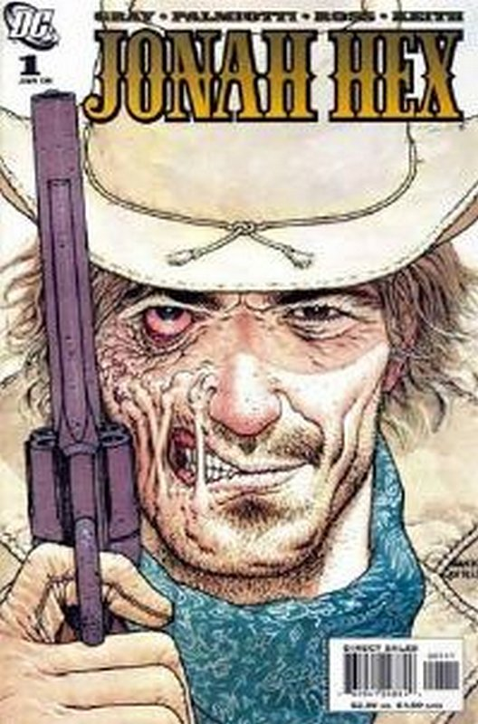Cover of Jonah Hex (Vol 2) #1. One of 250,000 Vintage American Comics on sale from Krypton!