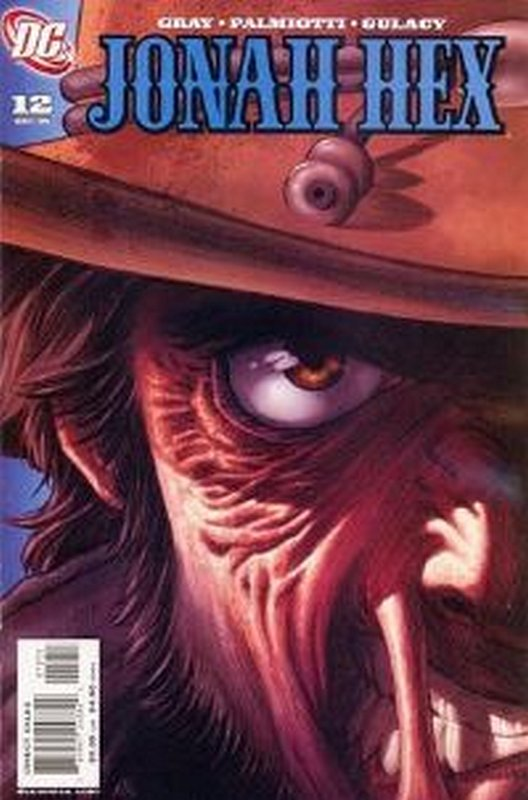 Cover of Jonah Hex (Vol 2) #12. One of 250,000 Vintage American Comics on sale from Krypton!