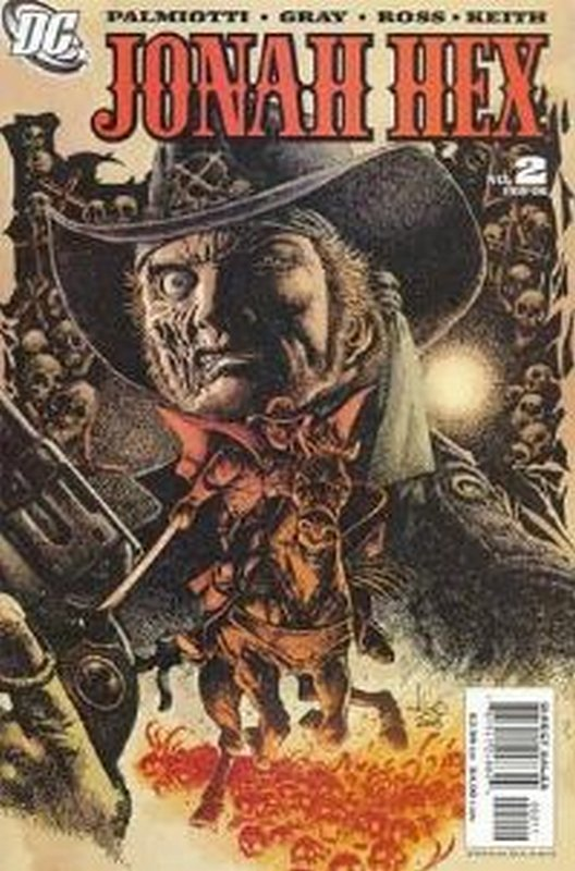 Cover of Jonah Hex (Vol 2) #2. One of 250,000 Vintage American Comics on sale from Krypton!