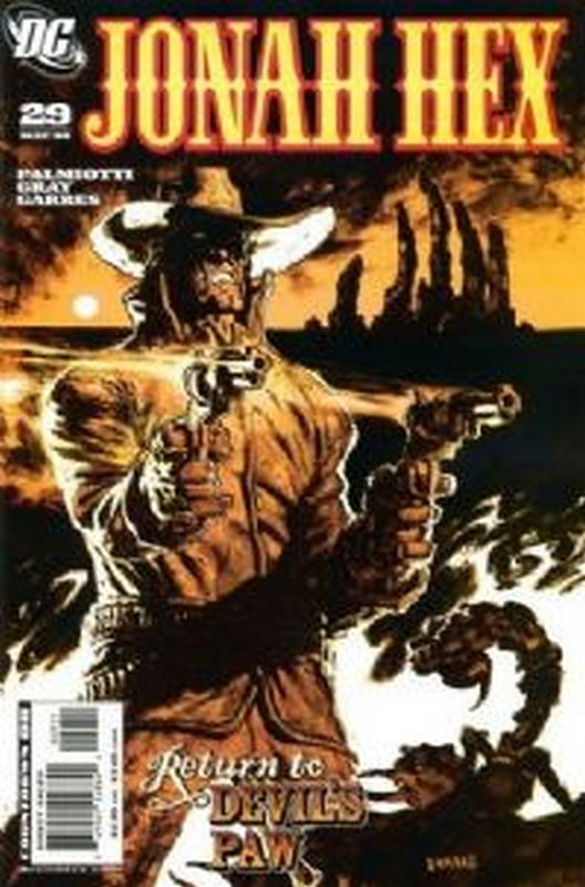 Cover of Jonah Hex (Vol 2) #29. One of 250,000 Vintage American Comics on sale from Krypton!
