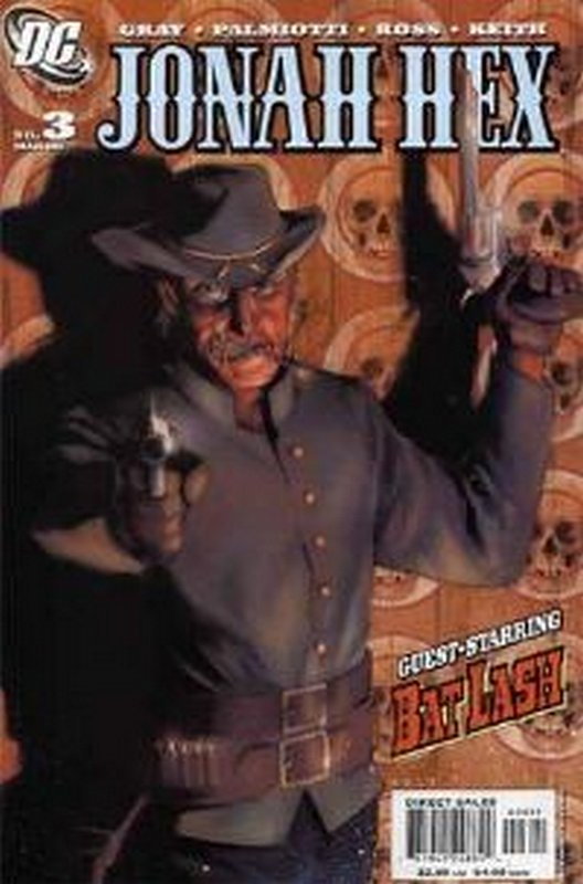 Cover of Jonah Hex (Vol 2) #3. One of 250,000 Vintage American Comics on sale from Krypton!