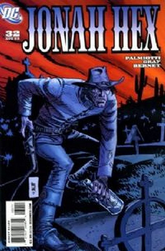 Cover of Jonah Hex (Vol 2) #32. One of 250,000 Vintage American Comics on sale from Krypton!