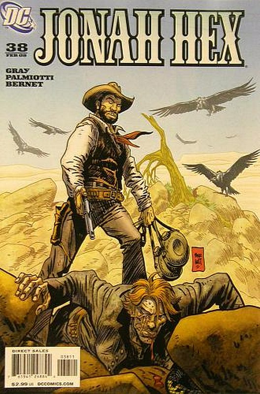 Cover of Jonah Hex (Vol 2) #38. One of 250,000 Vintage American Comics on sale from Krypton!