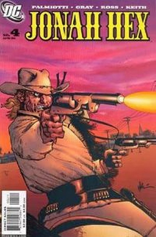 Cover of Jonah Hex (Vol 2) #4. One of 250,000 Vintage American Comics on sale from Krypton!