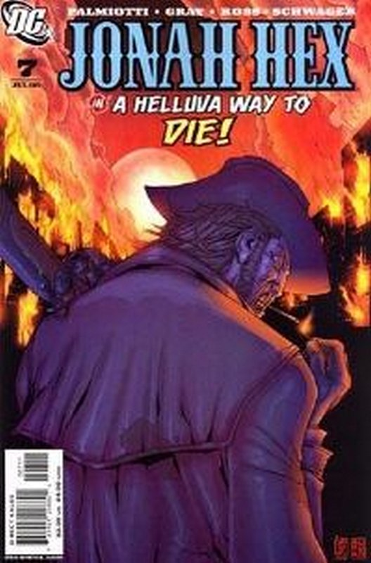 Cover of Jonah Hex (Vol 2) #7. One of 250,000 Vintage American Comics on sale from Krypton!