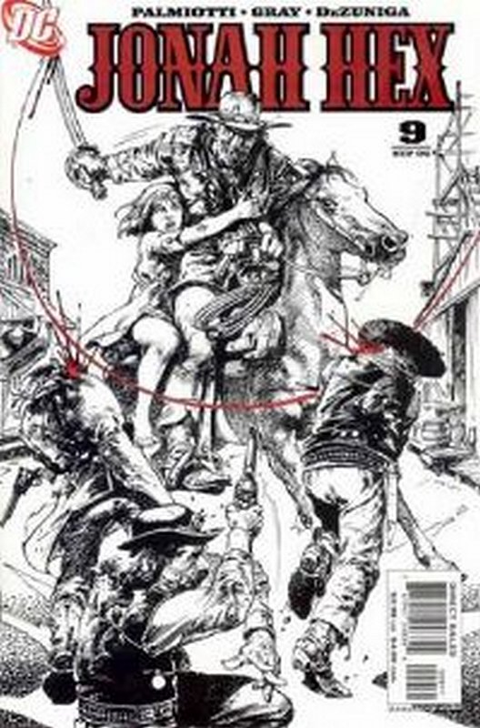 Cover of Jonah Hex (Vol 2) #9. One of 250,000 Vintage American Comics on sale from Krypton!