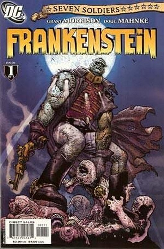 Cover of Seven Soldiers: Frankenstein (2006 Ltd) #1. One of 250,000 Vintage American Comics on sale from Krypton!