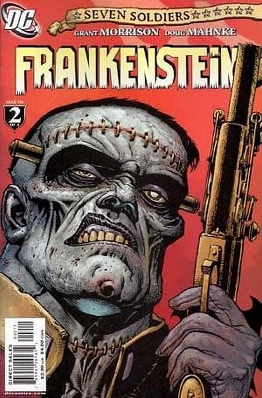 Cover of Seven Soldiers: Frankenstein (2006 Ltd) #2. One of 250,000 Vintage American Comics on sale from Krypton!