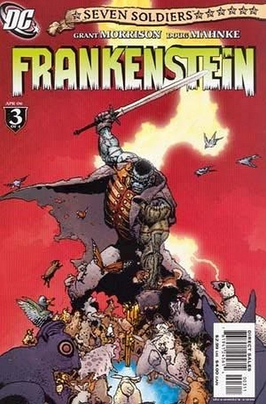 Cover of Seven Soldiers: Frankenstein (2006 Ltd) #3. One of 250,000 Vintage American Comics on sale from Krypton!