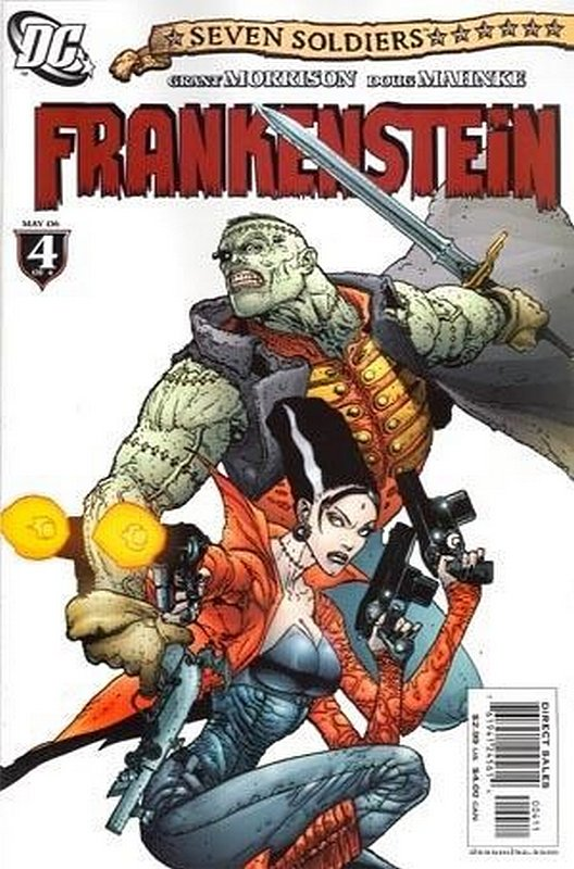 Cover of Seven Soldiers: Frankenstein (2006 Ltd) #4. One of 250,000 Vintage American Comics on sale from Krypton!