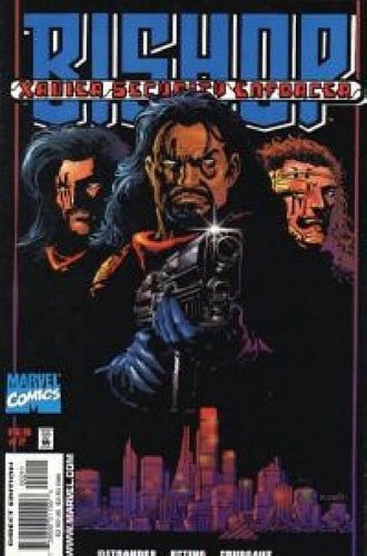 Cover of Bishop Xavier Security Enforcers (1998 Ltd) #2. One of 250,000 Vintage American Comics on sale from Krypton!