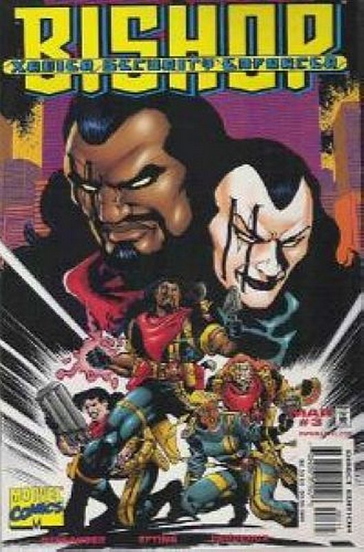 Cover of Bishop Xavier Security Enforcers (1998 Ltd) #3. One of 250,000 Vintage American Comics on sale from Krypton!