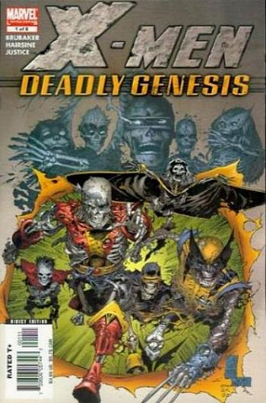 Cover of X-Men: Deadly Genesis (2005 Ltd) #1. One of 250,000 Vintage American Comics on sale from Krypton!