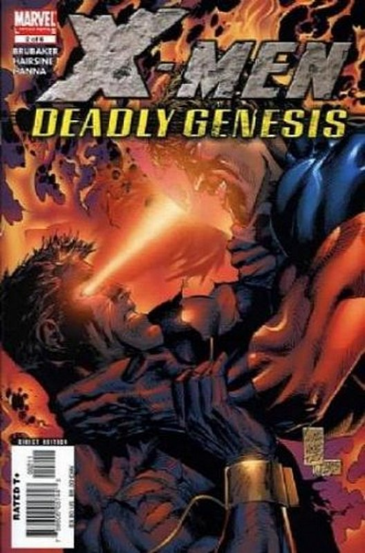 Cover of X-Men: Deadly Genesis (2005 Ltd) #2. One of 250,000 Vintage American Comics on sale from Krypton!