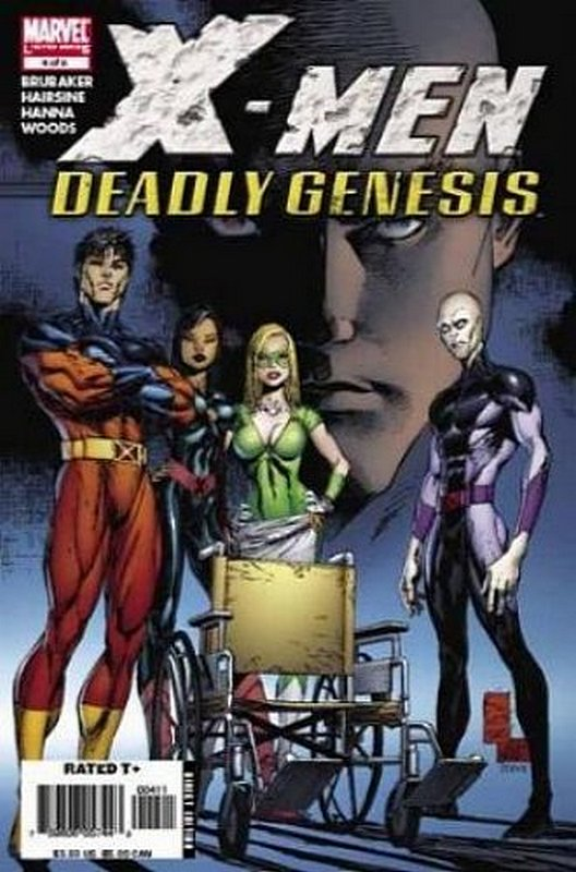 Cover of X-Men: Deadly Genesis (2005 Ltd) #4. One of 250,000 Vintage American Comics on sale from Krypton!