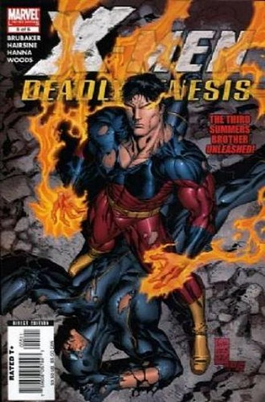 Cover of X-Men: Deadly Genesis (2005 Ltd) #5. One of 250,000 Vintage American Comics on sale from Krypton!