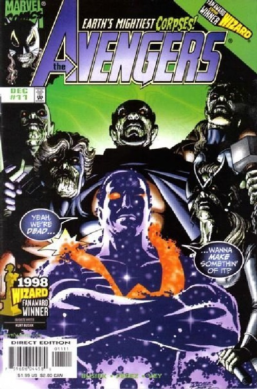 Cover of Avengers (Vol 3) #11. One of 250,000 Vintage American Comics on sale from Krypton!