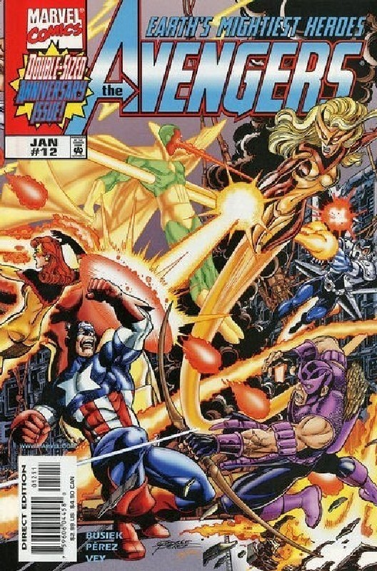 Cover of Avengers (Vol 3) #12. One of 250,000 Vintage American Comics on sale from Krypton!