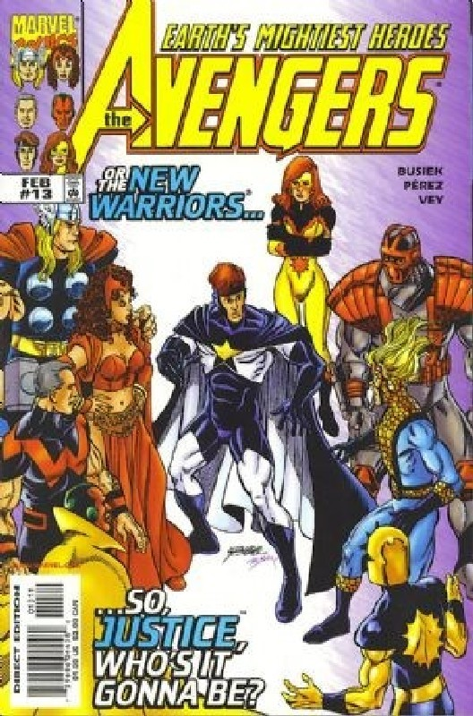 Cover of Avengers (Vol 3) #13. One of 250,000 Vintage American Comics on sale from Krypton!
