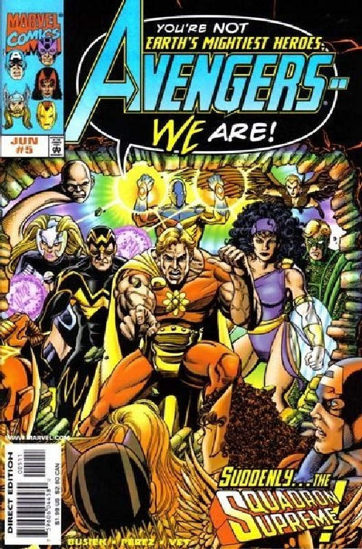 Cover of Avengers (Vol 3) #5. One of 250,000 Vintage American Comics on sale from Krypton!