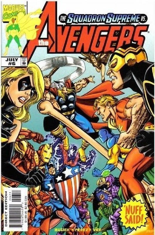 Cover of Avengers (Vol 3) #6. One of 250,000 Vintage American Comics on sale from Krypton!