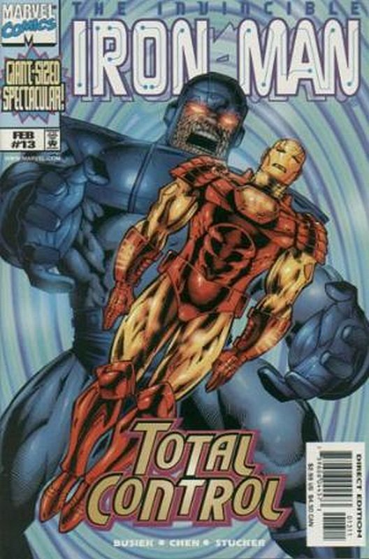 Cover of Iron Man (Vol 3) #13. One of 250,000 Vintage American Comics on sale from Krypton!