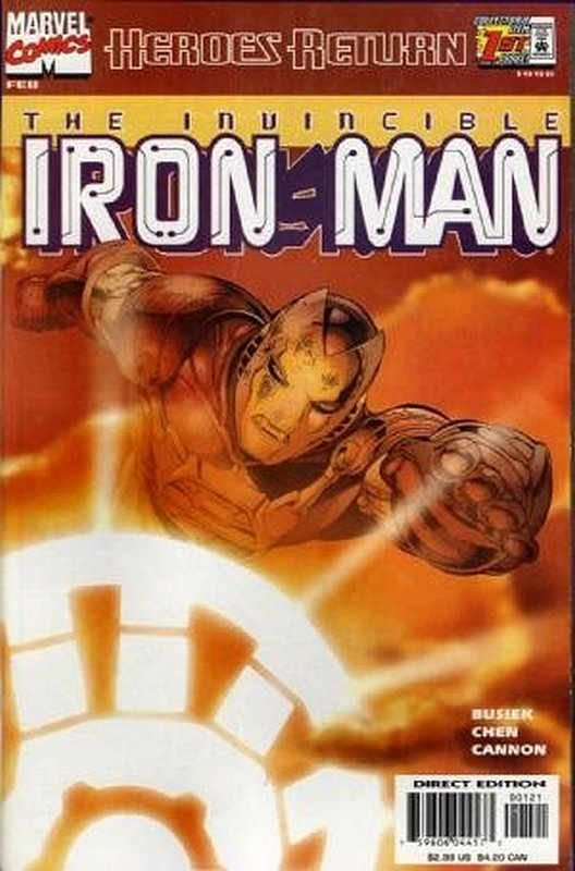 Cover of Iron Man (Vol 3) #1. One of 250,000 Vintage American Comics on sale from Krypton!