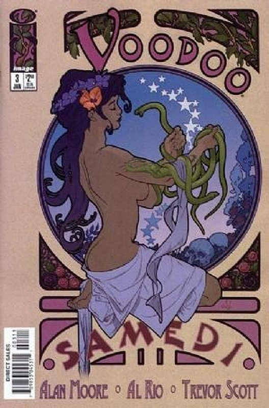 Cover of Voodoo (1997 Ltd) #3. One of 250,000 Vintage American Comics on sale from Krypton!
