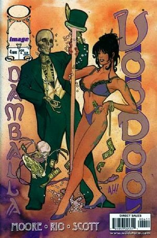 Cover of Voodoo (1997 Ltd) #4. One of 250,000 Vintage American Comics on sale from Krypton!