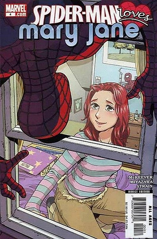 Cover of Spider-Man Loves Mary Jane (Vol 1) #4. One of 250,000 Vintage American Comics on sale from Krypton!