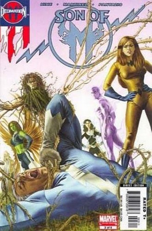 Cover of Son of M (2005 Ltd) #3. One of 250,000 Vintage American Comics on sale from Krypton!