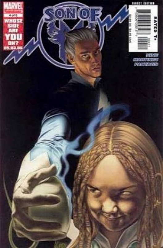 Cover of Son of M (2005 Ltd) #4. One of 250,000 Vintage American Comics on sale from Krypton!