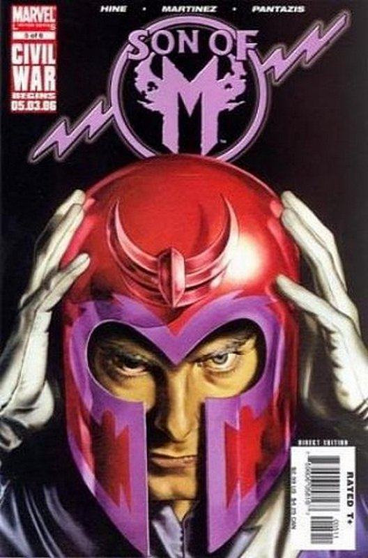 Cover of Son of M (2005 Ltd) #5. One of 250,000 Vintage American Comics on sale from Krypton!