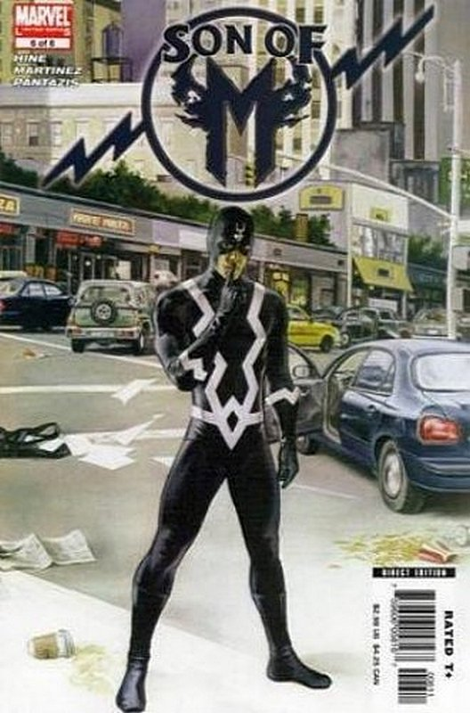 Cover of Son of M (2005 Ltd) #6. One of 250,000 Vintage American Comics on sale from Krypton!