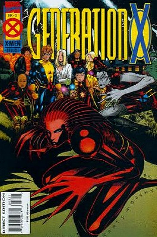Cover of Generation X (Vol 1) #2. One of 250,000 Vintage American Comics on sale from Krypton!