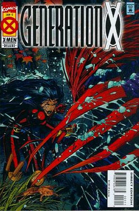 Cover of Generation X (Vol 1) #3. One of 250,000 Vintage American Comics on sale from Krypton!