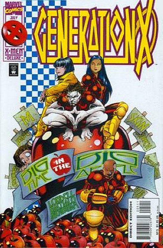 Cover of Generation X (Vol 1) #5. One of 250,000 Vintage American Comics on sale from Krypton!