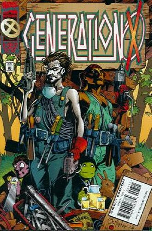 Cover of Generation X (Vol 1) #7. One of 250,000 Vintage American Comics on sale from Krypton!