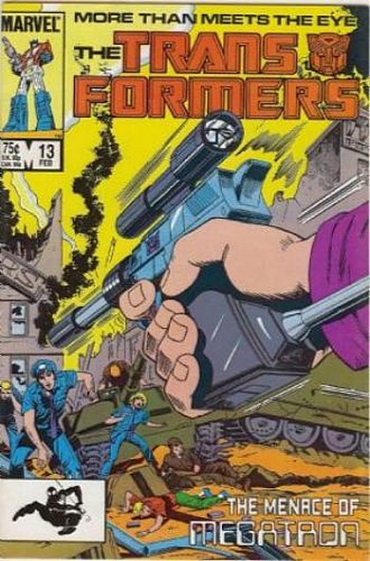 Cover of Transformers (Vol 1) (Marvel) #13. One of 250,000 Vintage American Comics on sale from Krypton!