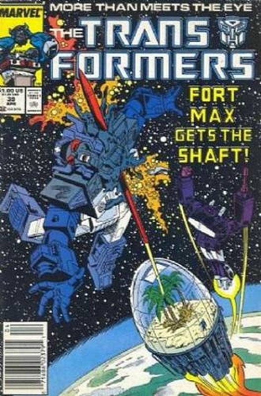 Cover of Transformers (Vol 1) (Marvel) #39. One of 250,000 Vintage American Comics on sale from Krypton!
