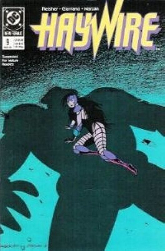 Cover of Haywire (Vol 1) #9. One of 250,000 Vintage American Comics on sale from Krypton!